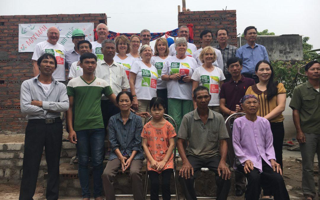 Habitat Volunteers Build in Vietnam