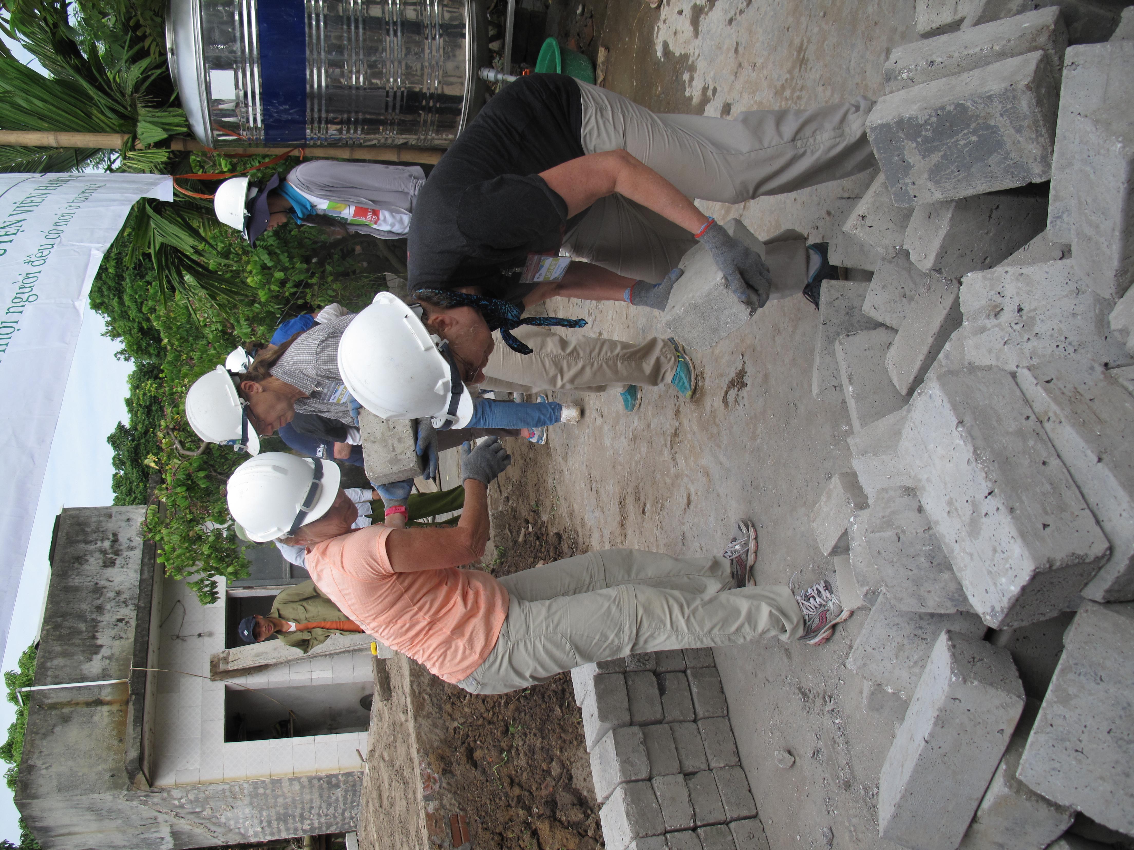 Vietnam brick brigade