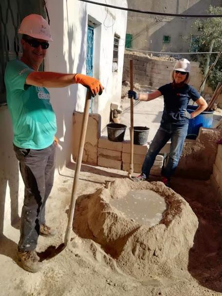 jordan build site Mark and Ruth mortar