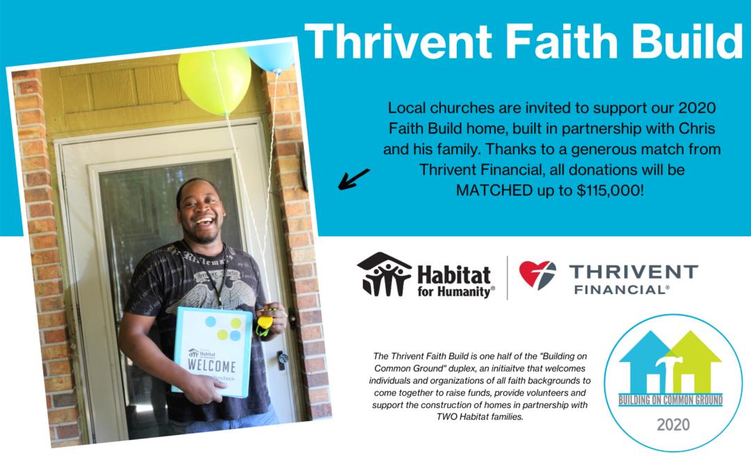 2020 Thrivent Faith Build
