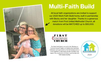 2020 Multi-Faith Build