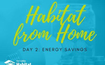 Habitat from Home: Energy Savings