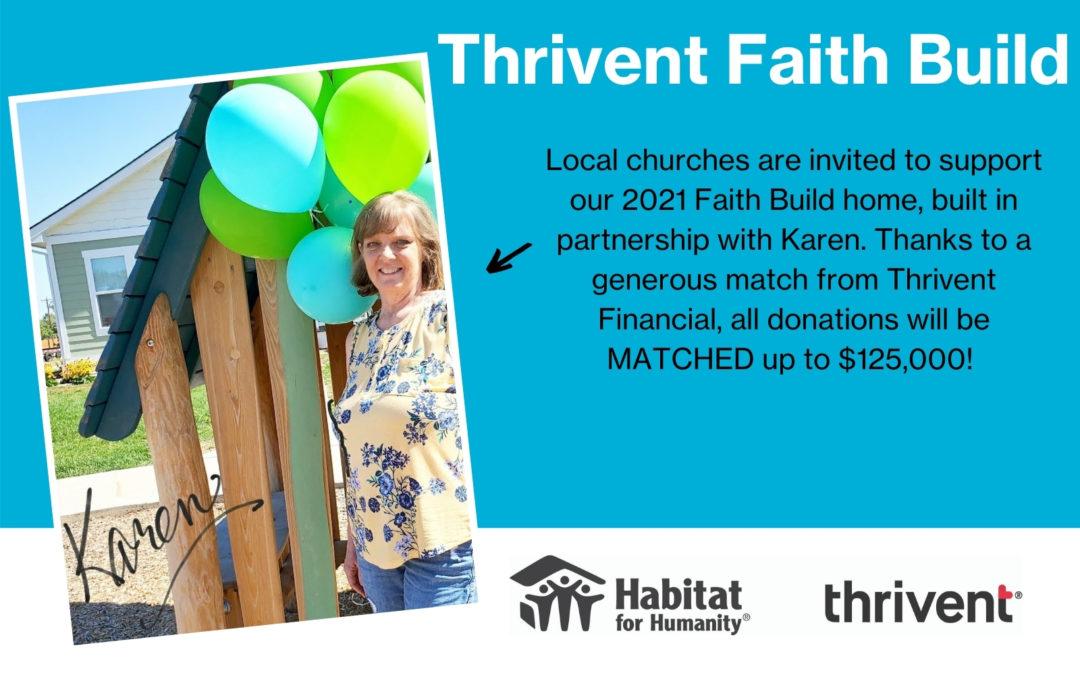 2021 Thrivent Faith Build